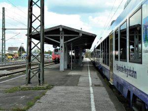 DB-Bahnhof Weilheim i.Ob - vor Umbau 2016