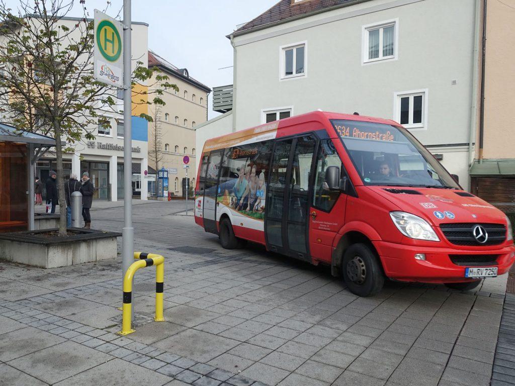 Stadtbus 2018 Haltestele Altstadt