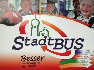 Stadtbus Plakat