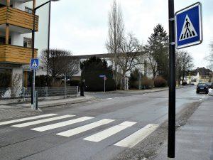 Zebrastreifen in Weilheim