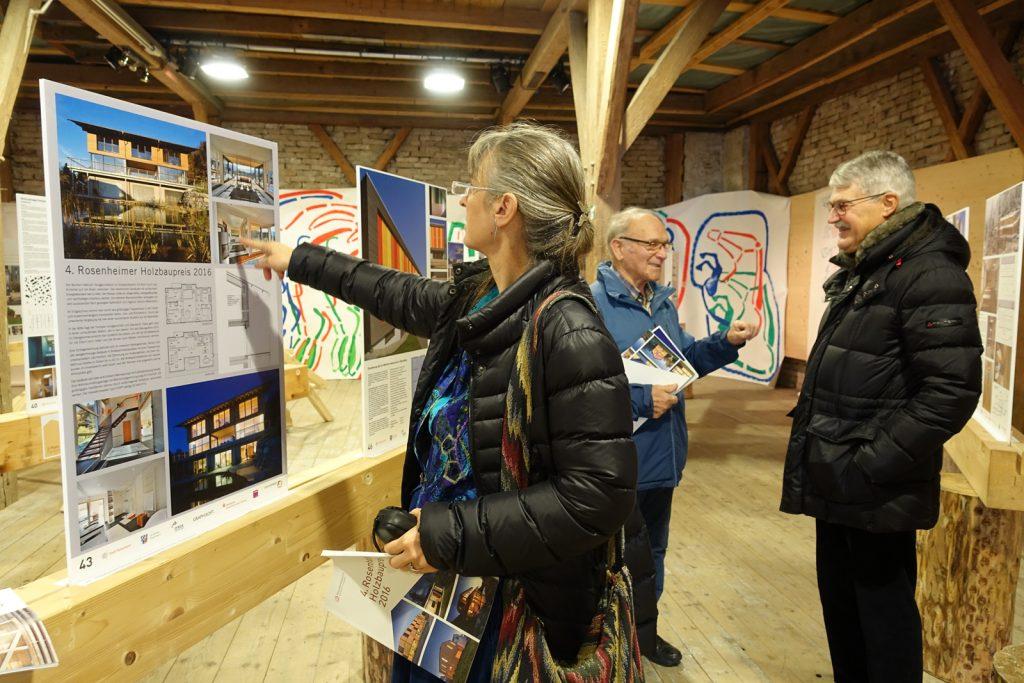 Ausstellung 'Holzbau heute', Weilheim