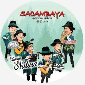 Musikgruppe 'Sacambaya' CD Cover