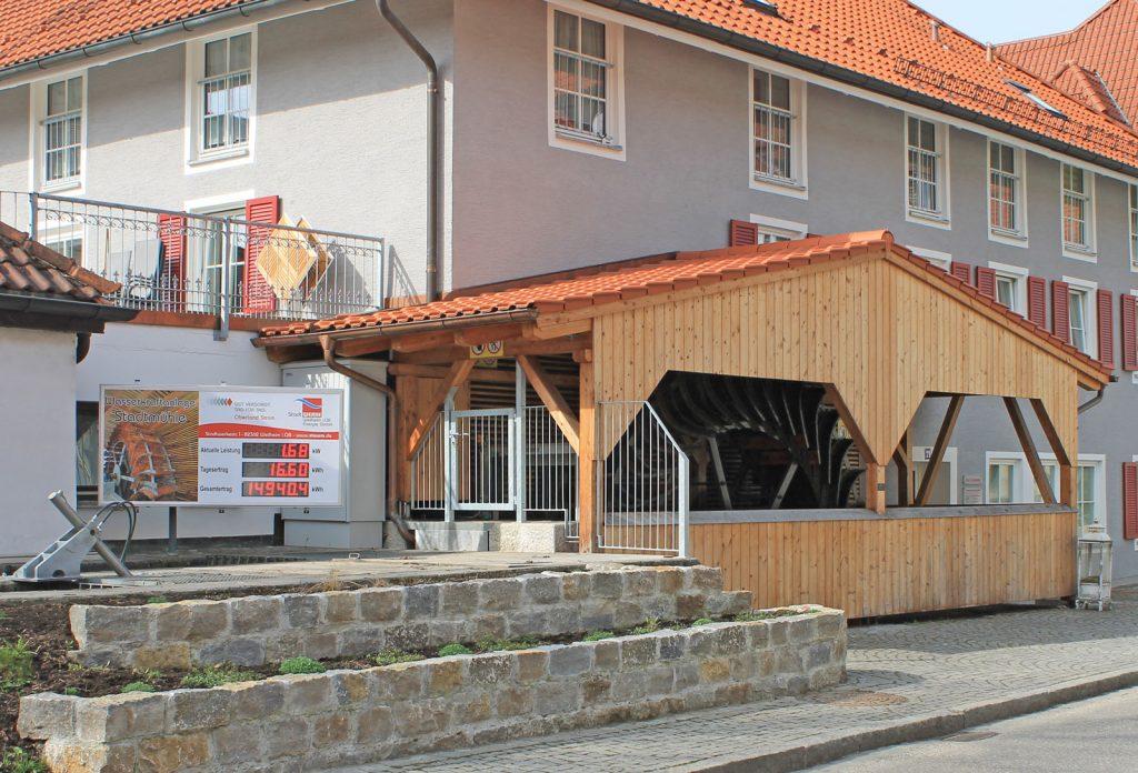 Wasserkraftanlage Stadtmühle in Weilheim