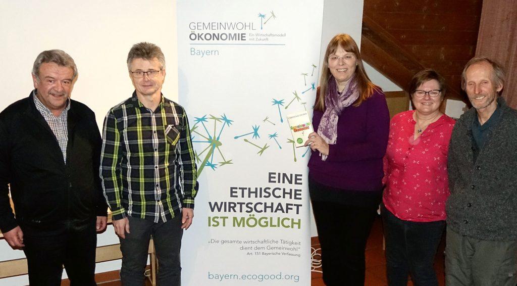 GWÖ-Gruppe Weilheim mit Bürgermeister Quirin Krötz (li) aus der Gemeinde Rott.