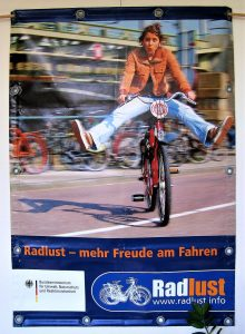 Ausstellung 'Radlust' in Weilheim 2011 - 'Mehr Freude am Fahren'