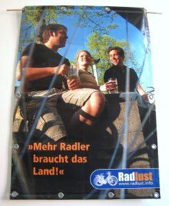 Ausstellung 'Radlust' in Weilheim 2011 - 'Mehr Radler braucht das Land!'
