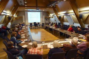 Info-Veranstaltung der Weilheimer AGENDA 21 im Rathaus, 26.3.19 - Stadtbeauftragter Manfred Stork führt ein