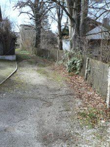 'Heseloherweg' in Weilheim, Teilstück bei Schmädlstraße