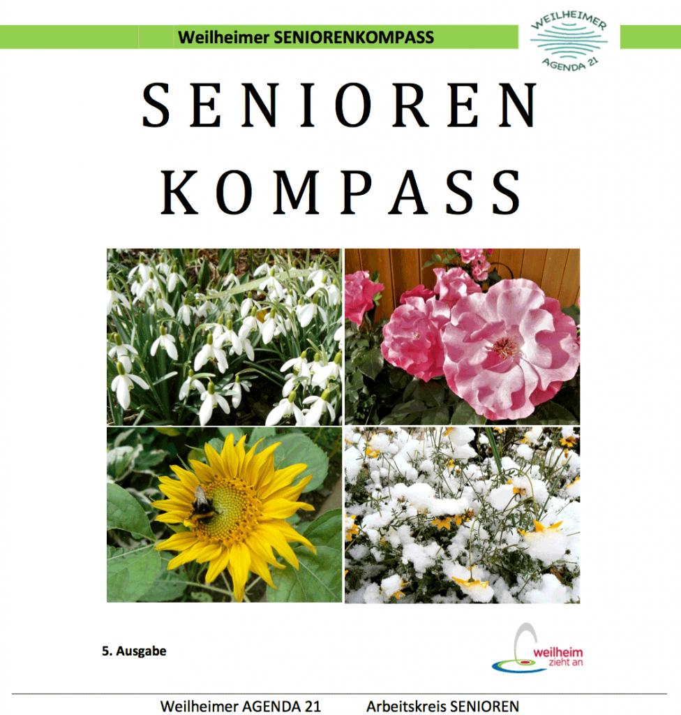 Weilheimer Seniorenkompass 2019 - Titel