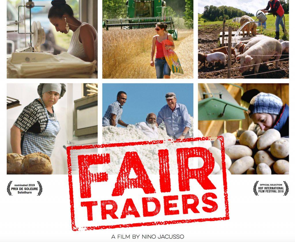 "Dokumentarfilm ""Fair Traders"" Poster (Teil)"
