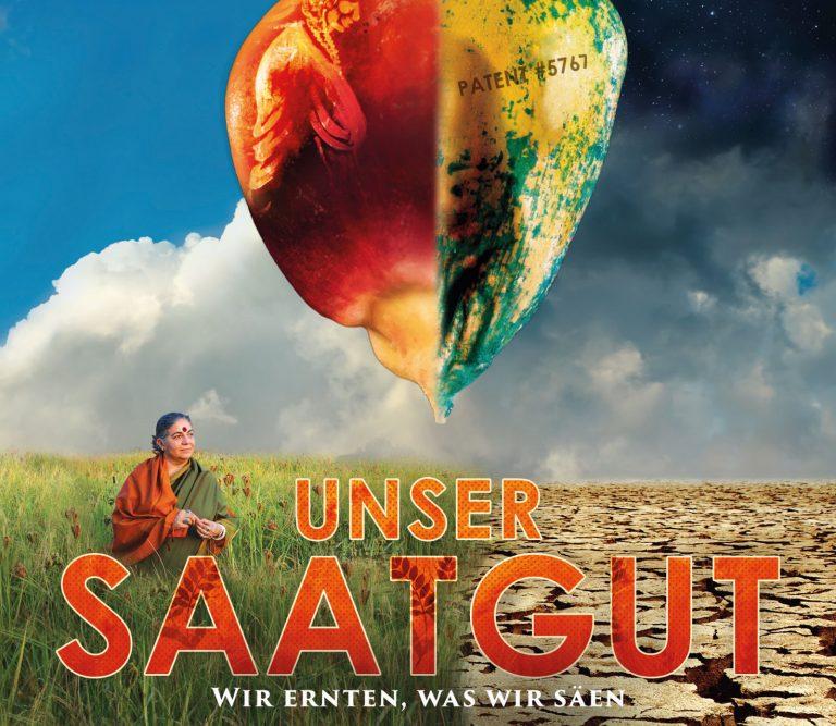 """Dokumentarfilm """"Unser Saatgut"""" (""""Seeds"""") - Filmplakat, Ausschnitt"""