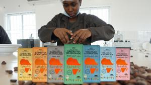 fairafric-Schokoladen-Produktion in Ghana