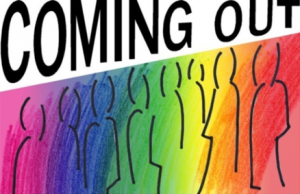 "Titelbild des Dokumentarfilms ""Coming Out"""