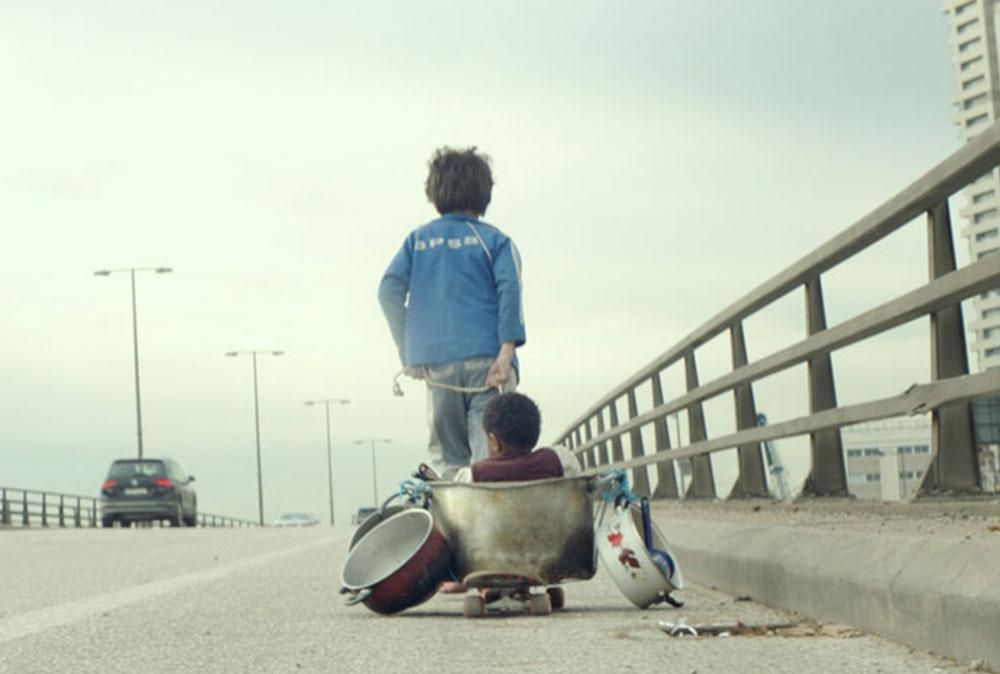 Titel-Bild aus dem Film 'Capernaum' - Zain auf der Straße
