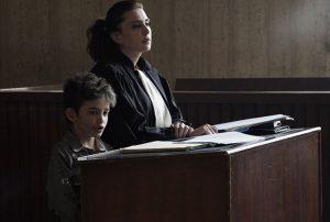 Bild aus dem Film 'Capernaum' - Zain vor Gericht