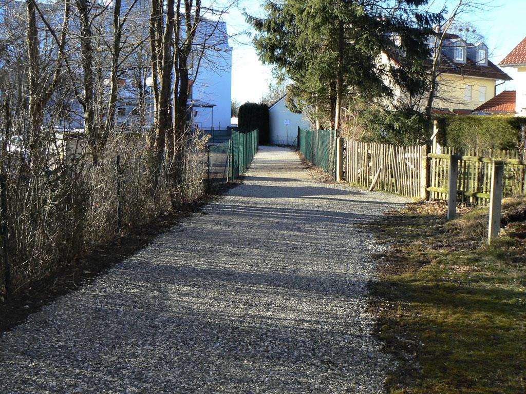 Weilheimer Heseloherweg - wiedereröffnet Januar 2020