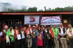 Dokumentarfilm 'Nach dem Regen kommt die Sonne' - Schule in Nepal. Foto: Nepalhilfe Starnberg e.V.
