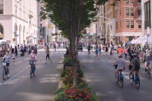 """Dokumentarfilm """"2040 – Wir retten die Welt!"""" – Bild: autofreie Stadt"""