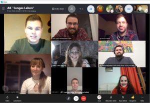 Arbeitskreis 'Junges Leben' - Online-Treffen Jan21