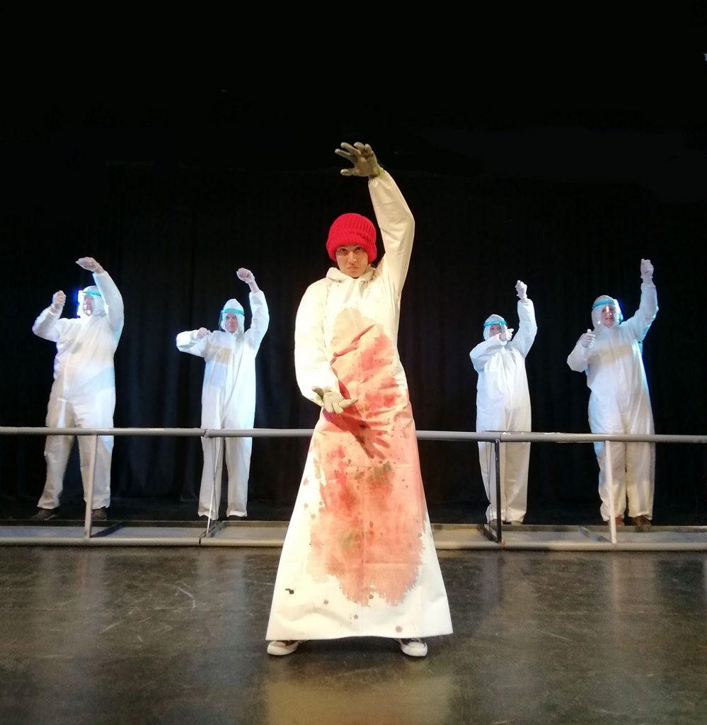 Theaterstück 'Alles Fleisch', Berliner Compagnie - Szenenfoto